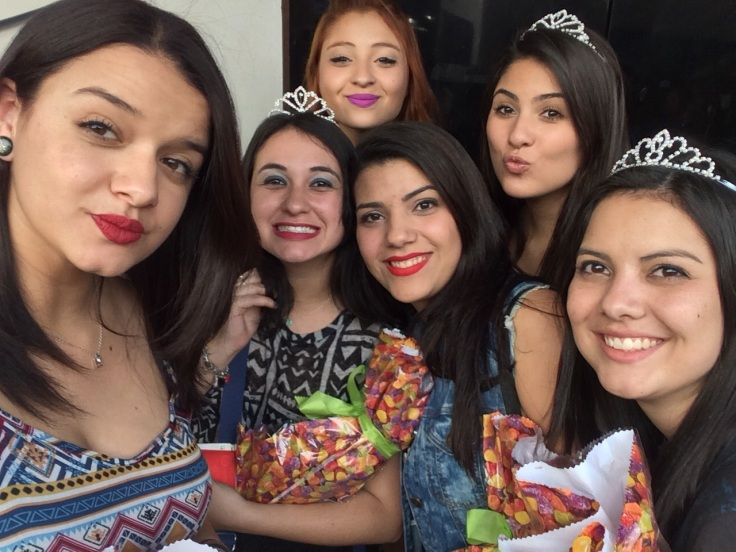 Princesas lindas antes do meet.
