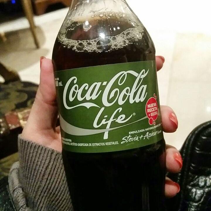 Coca-Cola Life (muito, mas muito doce)