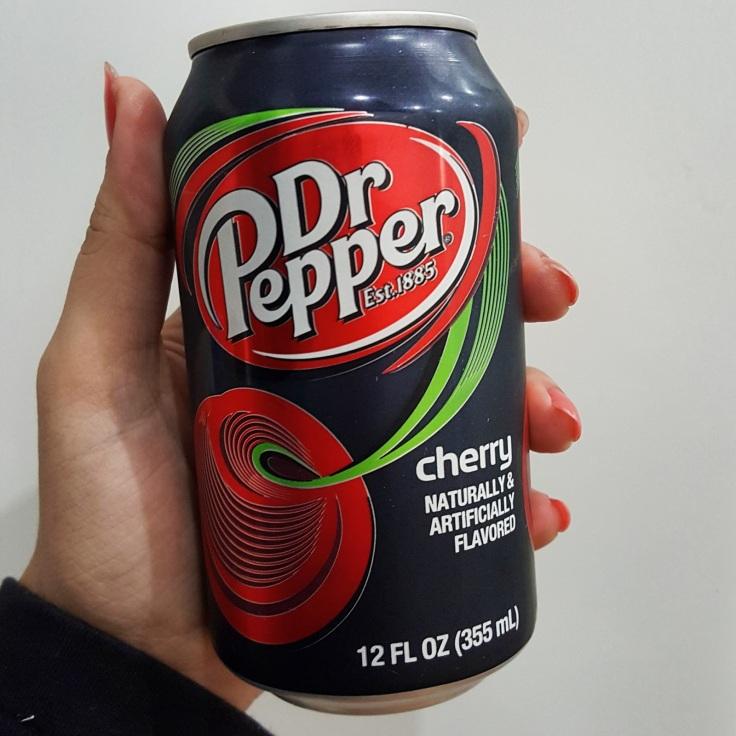 Se a Dr Pepper normal já tem um gostinho de cereja, essa então <3