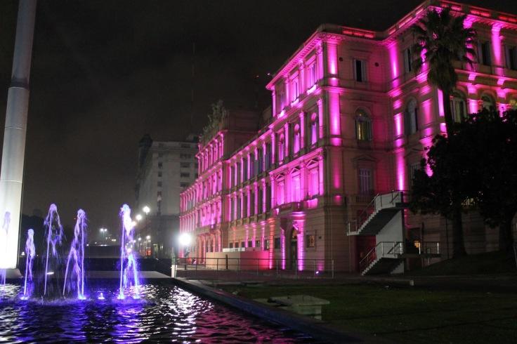 agua e rosa