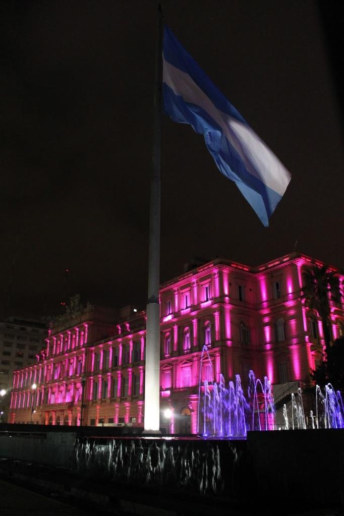 casa rosada linda