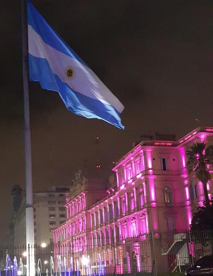 casa e bandeira
