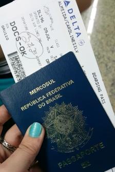 Passaporte + Passagem