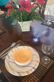 Mesa para o Café da Manhã