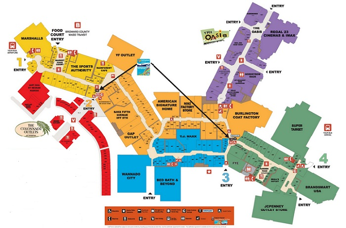 sawgrass_mills_map